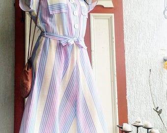 Let's picnic! 60s dress