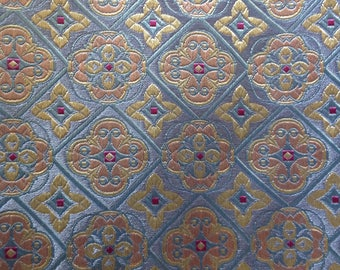 Silk fabric woven