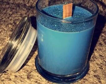 Handmade Woodwick 8oz Candle