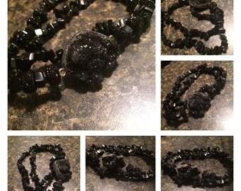 Black Frost Anklets