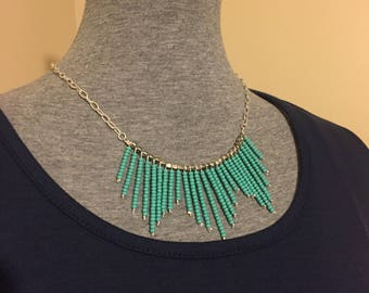 Seed bead Statement Necklace