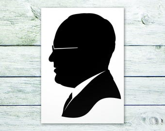 Example of Custom Man with Glasses