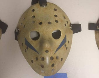 5 - Jason Voorhees Friday the 13th Custom Mask from Movie # 5 Part 5 Replica A New Beginning