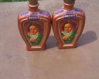 Jim Beam Beethoven Liquor Bottles