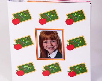 Personalised A4 School Memory Keepsake Folder