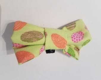 Easter Egg dog bow tie