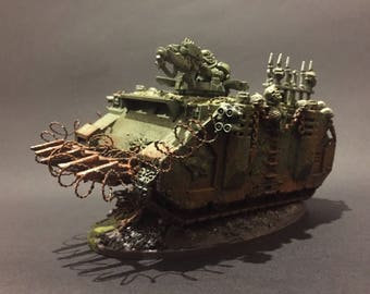 Nurgle 40K Rhino Tank Painted to Order