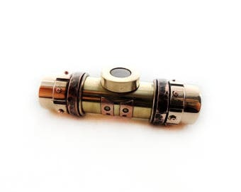 "Steampunk USB flash drive 32 GB ""Tank""  luxury birthday gift vintage gadget metal pendant mens accessories computer memory pendrives"