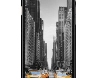 Iphone case 4, 5, 6, 7 New York 004 black edges