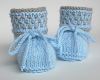 Baby shoes knit knitted baby booties shoes