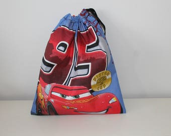 pouch bag, tote everything disney cars 26.5x22.5cm