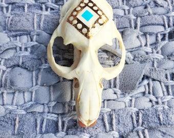 Embellished Beaver Skull