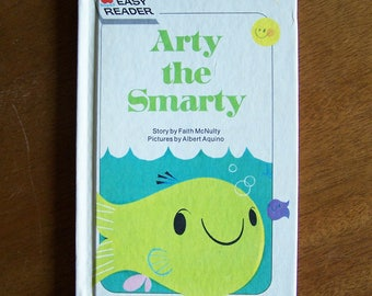 Arty the Smarty by Faith McNulty - Illustrated by Albert Aquino - 1962 Wonder Book Easy Reader - Children's Book