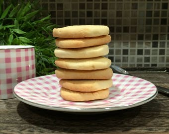 Vanilla Bean Sugar Cookies - 1 dozen fresh baked cookies