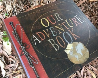 Our Adventure Book Handmade and Personalized