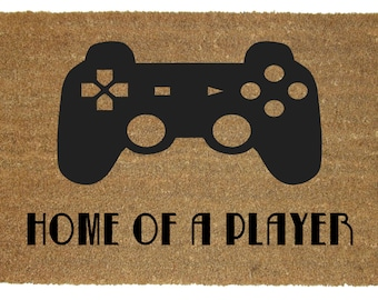 PLAYER rug- GAMING decor