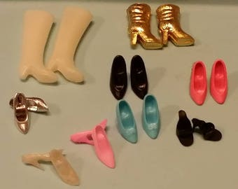 Barbie shoes lot
