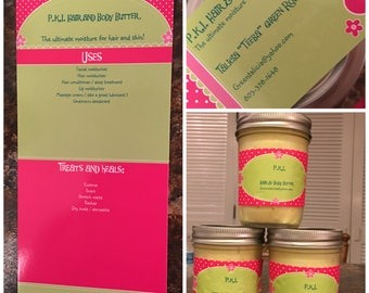 P.K.I. Hair and Body Butter