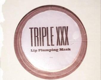 Hyaluronic acid and Tripeptide Triple XXX Lip Plumping Mask  Lip Plumper   Full Lips   Kylie Jenner   Lip Plump  Lip Mask 