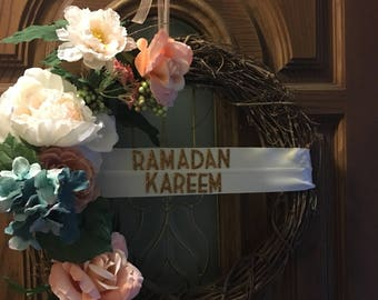 Personalized Ramadan Wreath