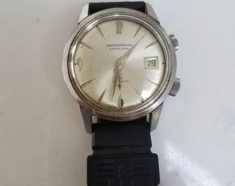 WAKMANN VINTAGE ALARM Men's Wrist watch