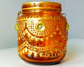 Moroccan Tea Candle 6