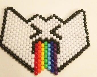 Puking Rainbow Mask