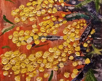 Kerry Sandhu Art - 'Rustic Wattle' - #2 of a series of 6 (sold separately or in a set).