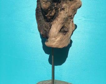 Driftwood sculpture - onze--.
