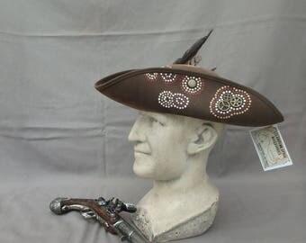 Steampunk tricorn - Chapeau Pirate