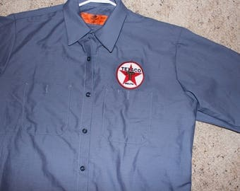 XL Texaco Mechanic Shirt-Retro Gasoline