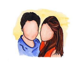 lifelines illustration: couples