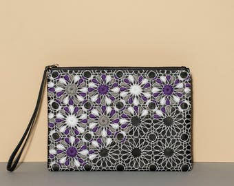 on the go envelope clutch - arabesque inspired