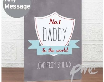 Personalised Father Day Card