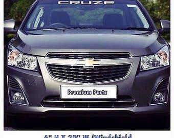 1950-2017 Chevrolet Cruze Windshield Body Decal Sticker New Custom 1PC
