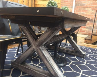 Artisan Crafted Outdoor Dining Table