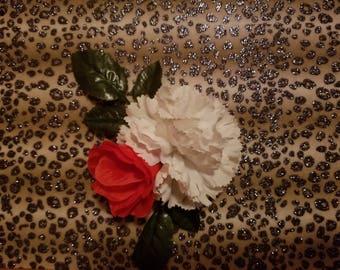 Cheetah flower wall decor