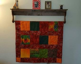 Afghan/Blanket Shelf