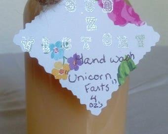 Unicorn farts hand wash