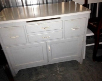 Antique Hoosier Cabinet Base - LOCAL PICKUP 19958