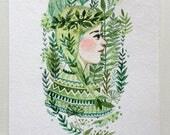 The Woods - Original Illustration
