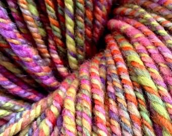 Handspun Merino/ Silk Sport Weight Yarn