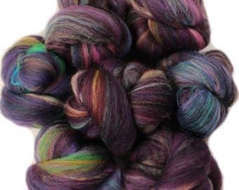 Spellbound battlings -- mini batts (2 oz.) organic polwarth wool, bamboo, silk, sparkle, etc.
