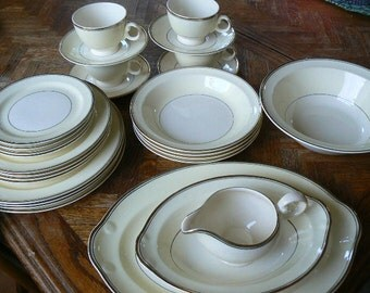 Vintage Taylor Smith Taylor China Set (4pc Set)