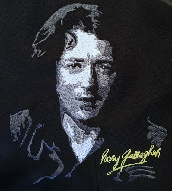 Rory Gallagher - Embroidery Pattern