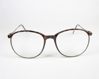 vintage 80s eyeglasses tortoiseshell frame womens plastic wire frames prescription glasses 90s