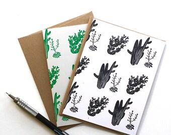 Set x 4 - A2 Desert Notecards