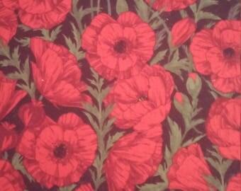 Field of Red Poppy, Fabric