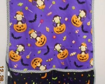 MadieBs Fun Monkeys and Jack o Lanterns with a Few Bats  Smock Cobbler Custom Made Apron