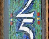 Vertical 2 Digit  Mosaic ...